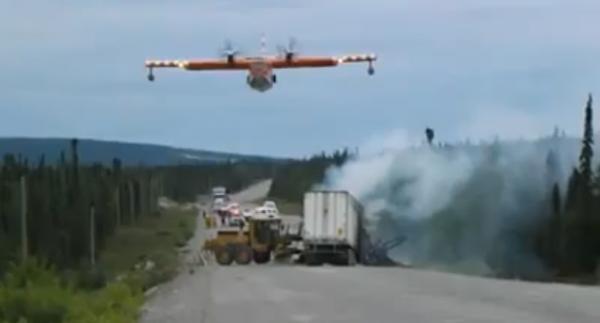 Canadair-water-bomber