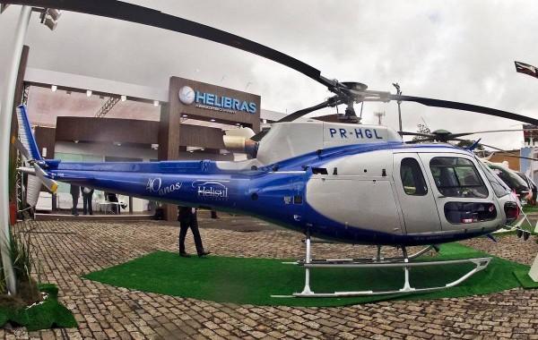 Esquilo AS350 B3e entregue à Helisul