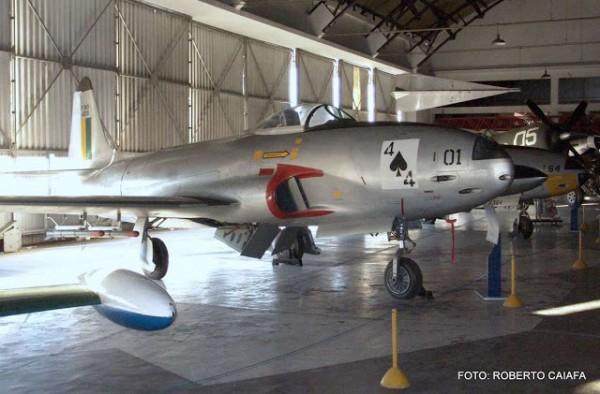 F-80 preservado no Musal