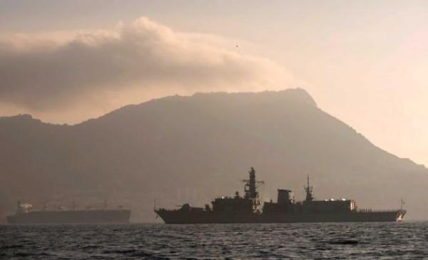 HMS Westminster arrives in Gibaltrar