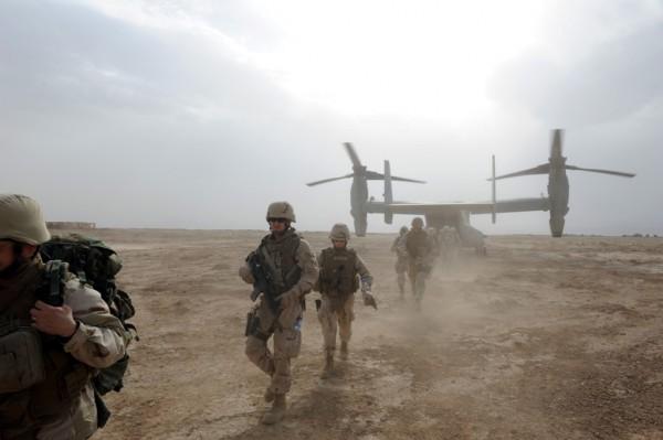 V-22 Osprey in Afeghanistan