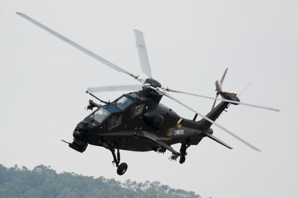 armed Chinese Z-10 Attack Helicopter gunship PLA Peoples Liberation Army Air Force export pakitan missile hj10 atgm rocket (1)