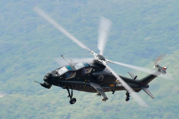 armed Chinese Z-10 Attack Helicopter gunship PLA Peoples Liberation Army Air Force export pakitan missile hj10 atgm rocket (7)