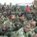 Soldados do Exército da República democrática do Congo. Após vitória contra rebeldes, tropas congolesas estão com o moral alto.