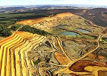 Jazida da Vale Fertilizantes em Tapira, MG; terras-raras podem ser retiradas dos rejeitos de nióbio e fosfato