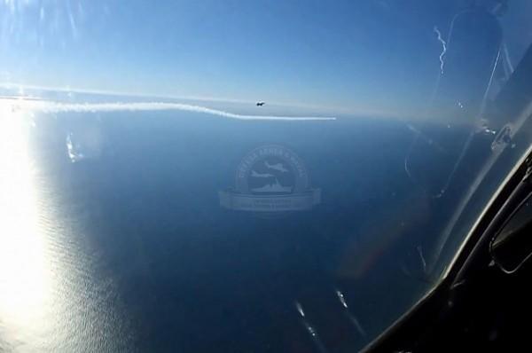 F-5M disparando o PythonIII