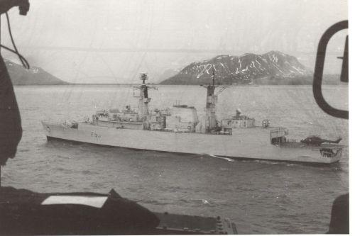 HMS Brilliant (F 90)_Falklands