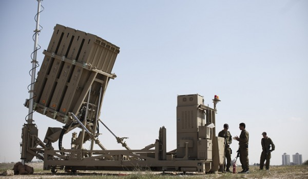Iron Dome system deployed in Beersheva