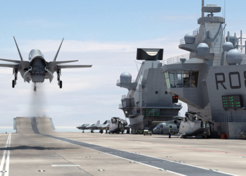 F-35 de combate decolando  (Foto: Aircraft Carrier Alliance)