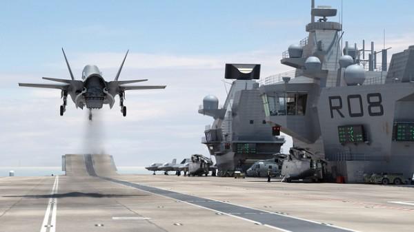 F-35 de combate decolando  (Foto: Aircraft Carrier Alliance)