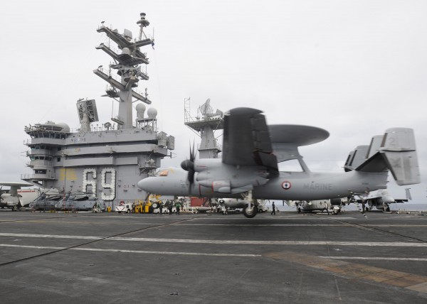 USS Dwight D. Eisenhower On Deployment