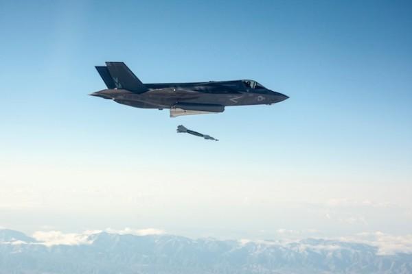 "BF-17, Flt 57, Major Richard ""BC"" Rusnok, GBU-12 WDA Live Fire, Edwards AFB, Ca., 29 October 2013"