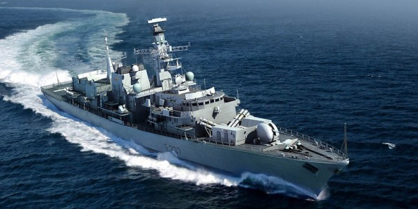 HMS Westminster F237 Type 23