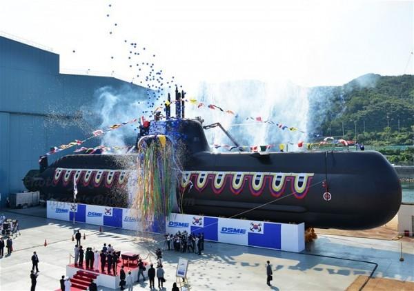 South Korea's Navy 214-type