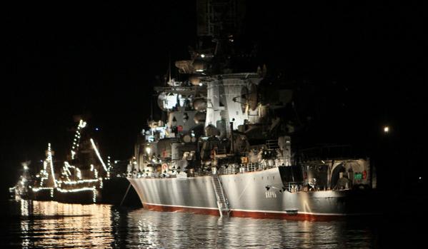 В Севастополе проходит подготовка к празднованию Дня Военно-морского флота