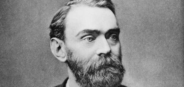 Alfred Berhard Nobel, Swedish chemist, c 1885.