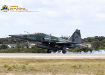 F-5EM da FAB retornando a BANT