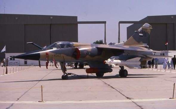 Iraqi Mirage F1EQ-4 with Kh-29L