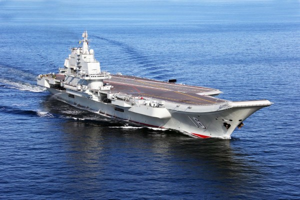 (121125) -- LIAONING AIRCRAFT CARRIER, Nov. 25, 2012 (Xinhua) --  This undated photo shows China's first aircraft carrier, the Liaoning, sailing on the sea. China has successfully conducted flight landing on its first aircraft carrier, the Liaoning. After