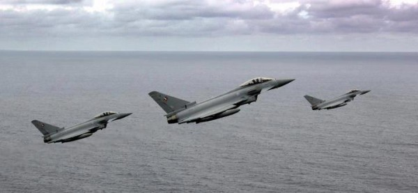 Typhoons over the Falklands.