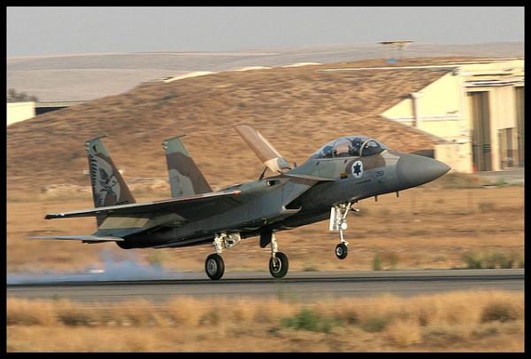 Essa é a camuflagem até então utilizada pelos F-15I.