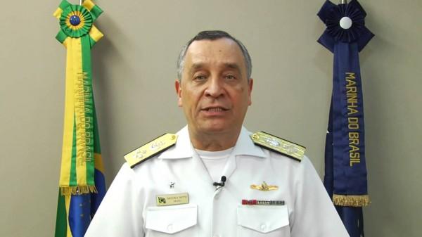 Comandante da Marinha Alte Moura Neto