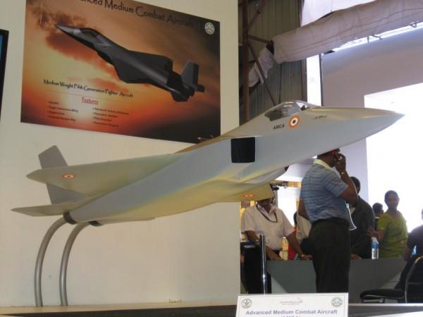 Advanced Medium Combat Aircraft (AMCA) Medium Combat Aircraft (MCA) single-seat, twin-engine fifth-generation stealth (4)