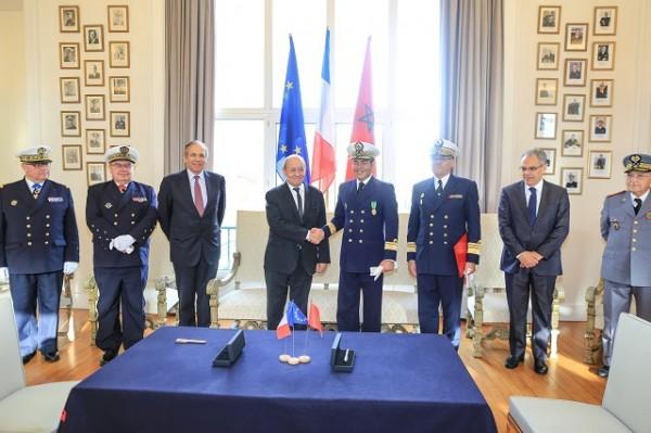 "transfert de propriété de la Fregateb Fremm ""Mohammed iV"" à l"
