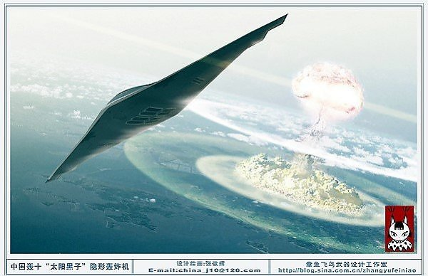 H-8 Xian Chinese Stealth Bomber
