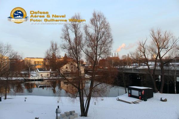 Vista parcial da cidade de Linköping