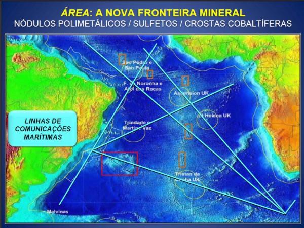 minerais no AS