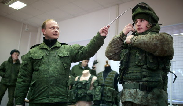 Soldado do futuro russo