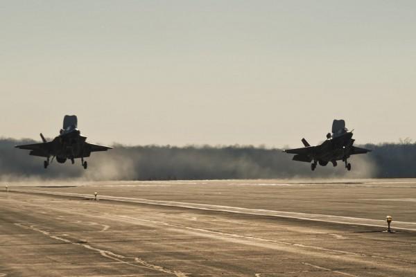 F-35B Mode4 landing