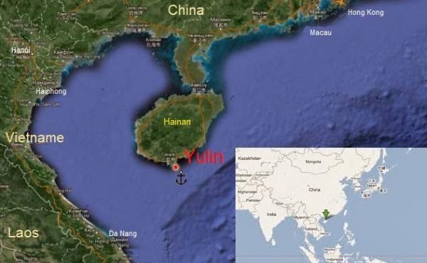 Mapa de Yulin