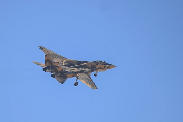 Persian F-14 Tomcat Fighter Jet In New Three Tone Camouflage  (2)