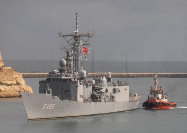 TCG GEDIZ   F495   Turkish navy.    15-9-12