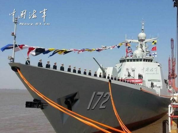 Type_052D_DDG_Kunming_commissioning