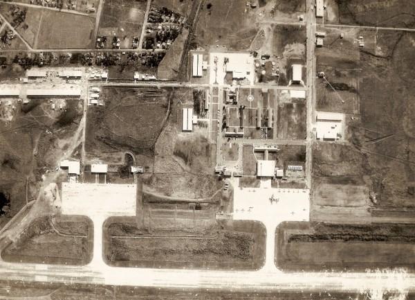 Vista Aérea da Base de Santa Maria 1981