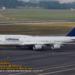 Boeing 747-8I da Lufthansa em Guarulhos