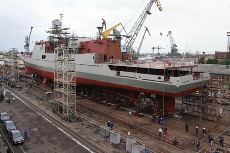 As novas fragatas estão substancialmente melhor armadas Foto: