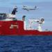 O navio australiano Ocean Shield captou sinais em quatro ocasiões que poderiam ser de um registro de voo