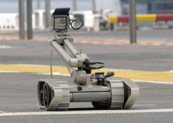 O iRobot 510 Packbot, fabricado pela iRobot. 30 desses versáteis equipamentos serão utilizados nas cidades sede da Copa do Mundo FIFA 2014 e posteriormente, nas Olimpíadas de 2016, no Rio de Janeiro