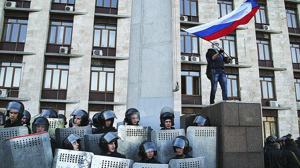 pró-russos - veja