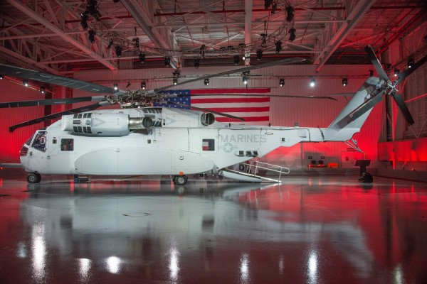 CH-53K King Stallion_roll out