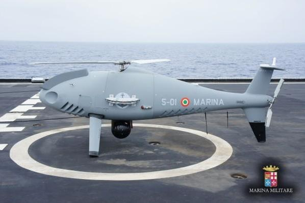 Italian-Navy-tests-Camcopter-S-100-unmanned-aerial-vehicle