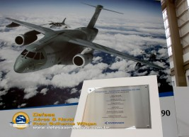 Placa de Inauguração KC-390