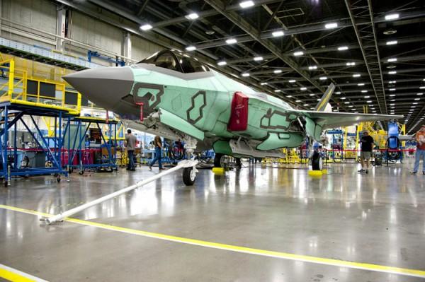 F-35 line production