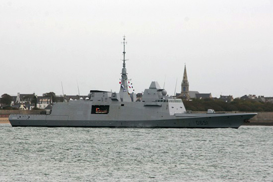 Fragata Normandie D 651