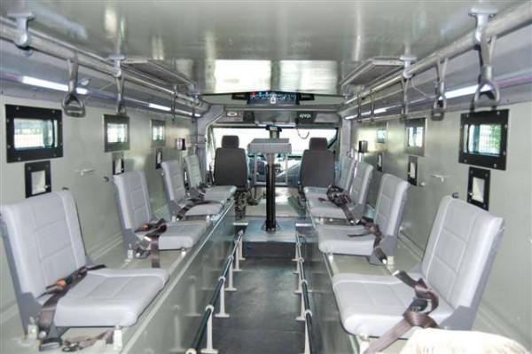 O interior do carro da Steel Truck (Fotos: Facebook Steel Truck)