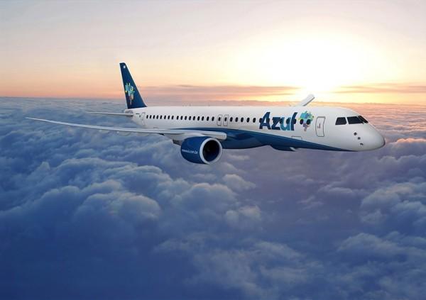 Montagem do E195-E2 da Azul - Air Cosmos